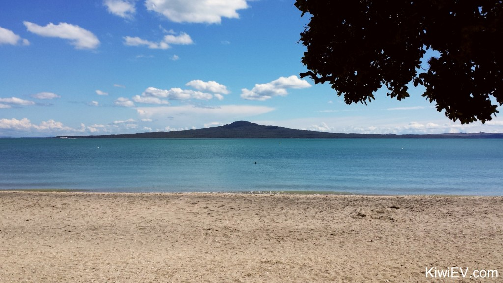 Rangitoto Island in Auckland City