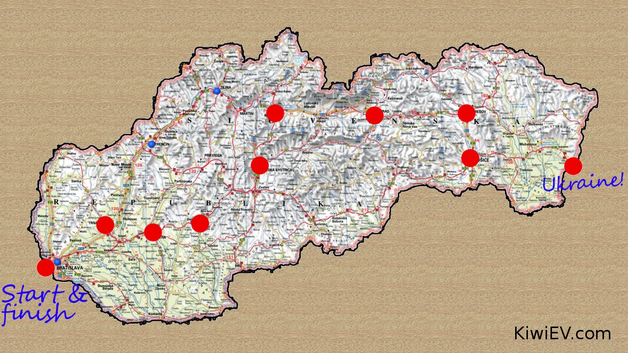 Taking a road trip to Ukraine
