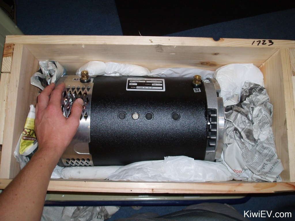 The Advanced DC FB1-4001A motor.