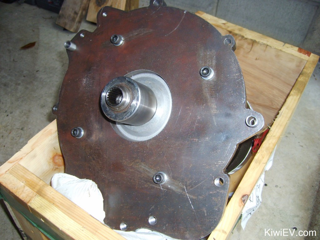 Electric motor & gearbox coupler