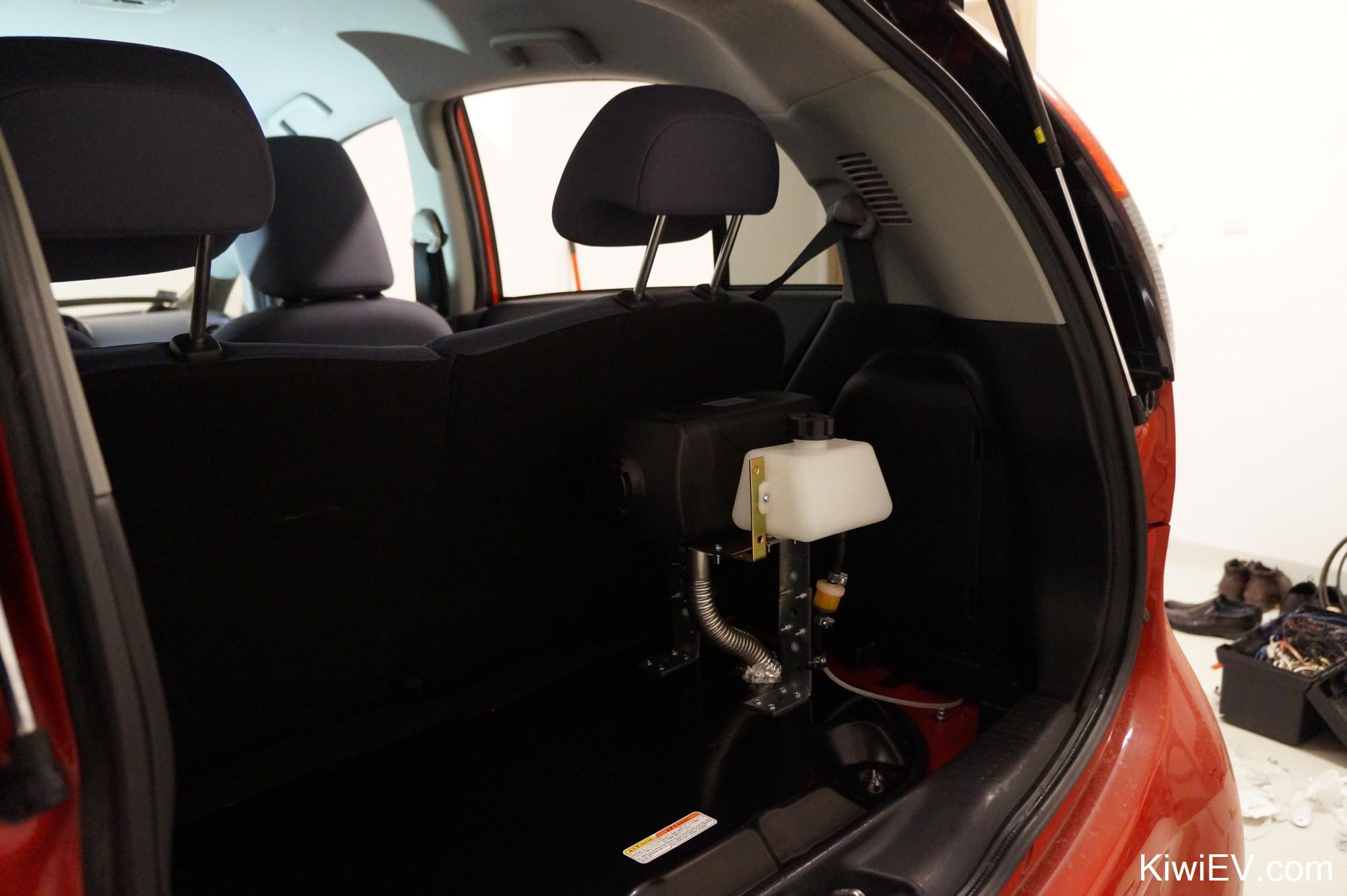 Installing A Diesel Parking Heater In My Electric Car Evs Alarm Wiring Diagram 2 Testing