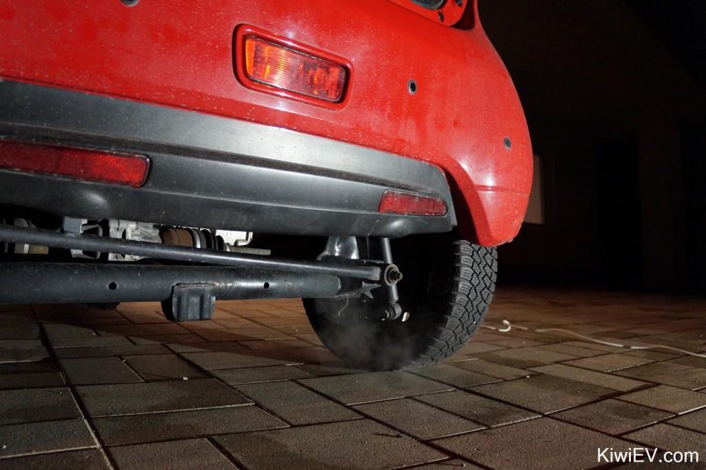 diesel parking heater exhaust