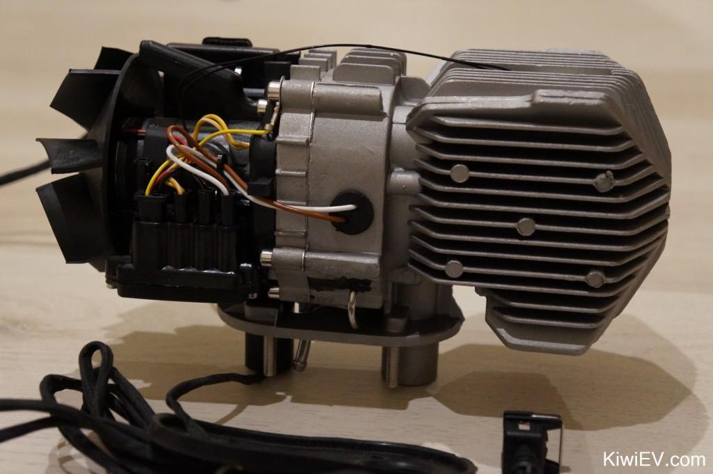 Diesel Parking Heater close up - Aliexpress chinese clone of Eberspacher parking heater