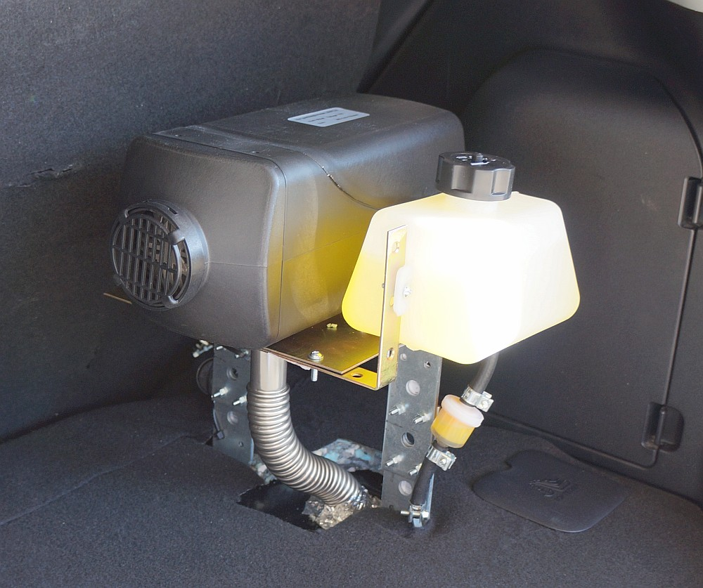 Installing A Diesel Parking Heater In My Electric Car 12 Valve Mins Fuel Wiring Diagram