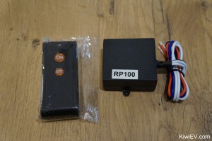 12 volt remote controlled relay