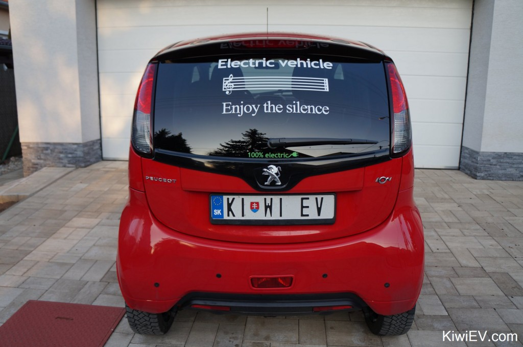 Electric vehicle - enjoy the silence sticker