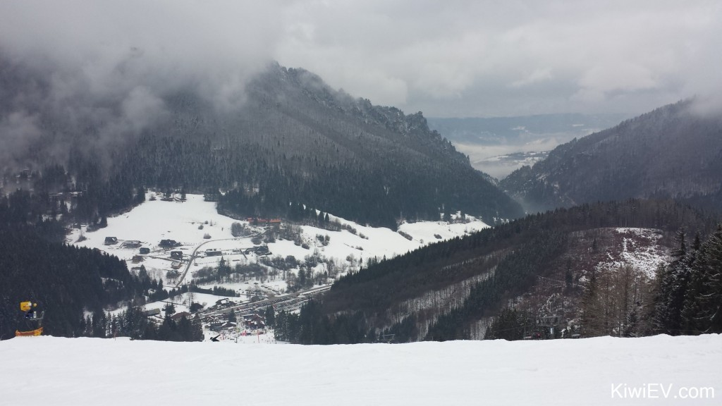 Vratna skifield Slovakia