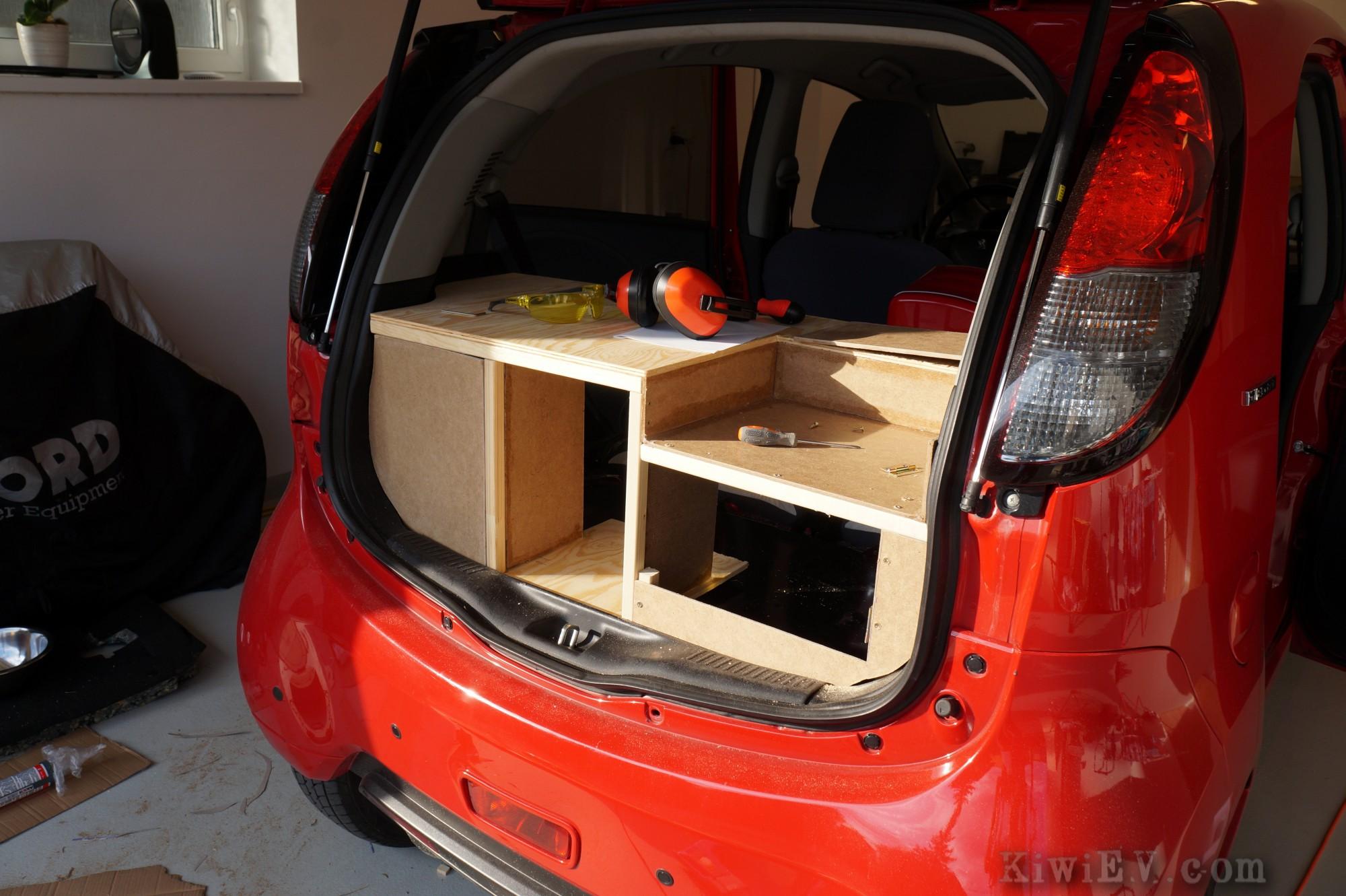 Installing A Kitchen In My Electric Car Kiwiev Com